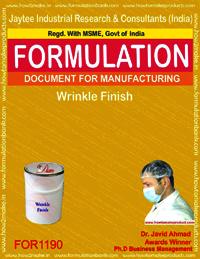 Wrinkle Finish Formulation