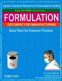 Base Paint for Hammer Finishes Formulations