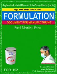 Road Marking Paint Formulation