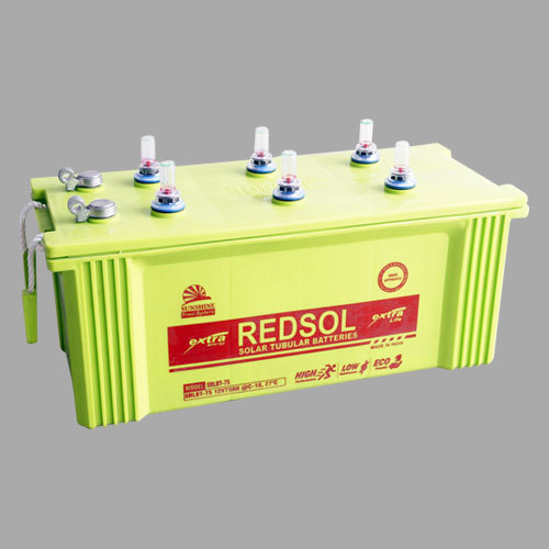 12V/75Ah Solar Tubular Battery