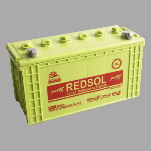 12V/40AH Solar Tubular Battery