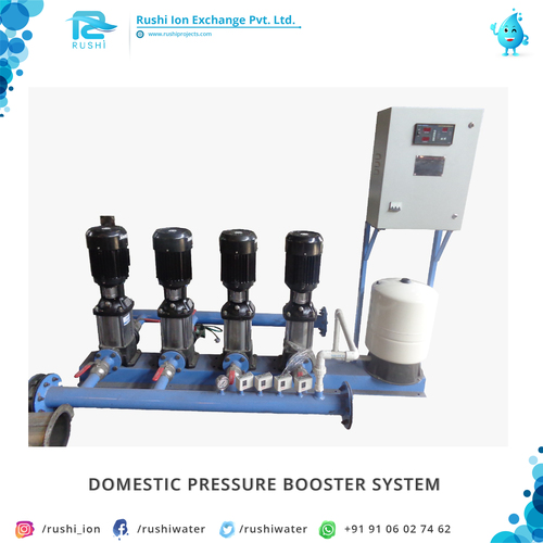 Domestic Pressure Booster System