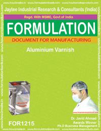Aluminium Varnish Formulation