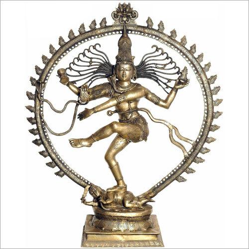 Brass Natraj Statue