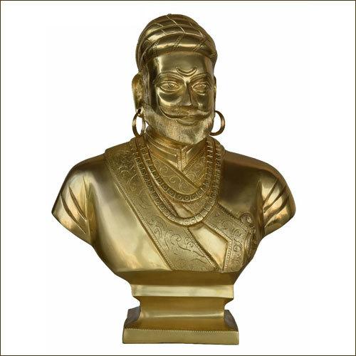 Chatrapati Shivaji Brass Statue