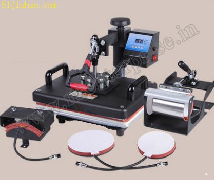 5 IN 1 Hot Press Machine