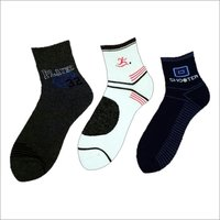 Cotton Printed Ankle Length Socks