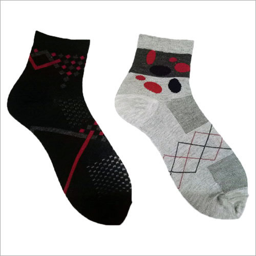 Customized Cotton Ankle Socks