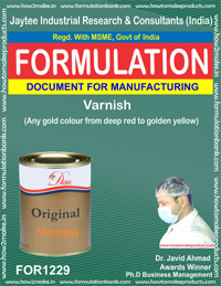 Varnish Formulations