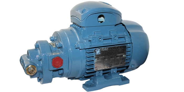 Pre-Lubrication Motorised Rotory Gear Pump