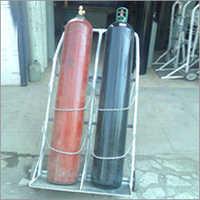 Double Gas Cylinder Handling Trolley