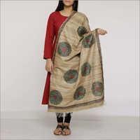 Madhubani Silk Dupatta
