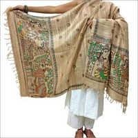 Madhubani Silk Designer Dupatta