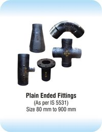 Plain Ended Cast Iron Fittings