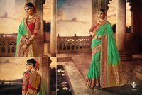 Heavy Bridal Banarasi Silk Saree