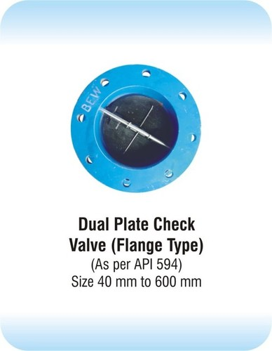 Dual Plate Check Valve Flange Type