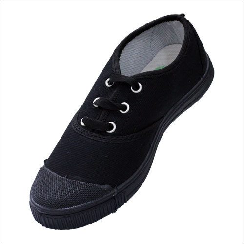 Black Tennis School Shoes