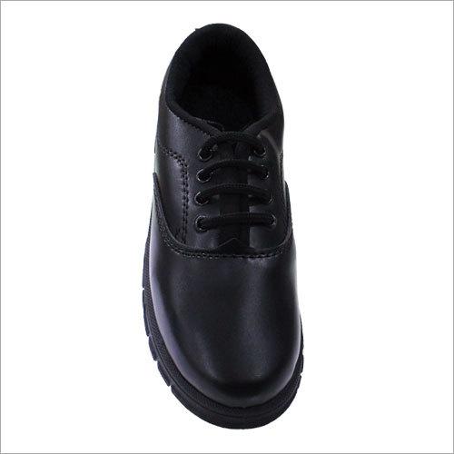 Black Lace Up School Shoes