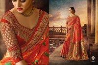 Pure Banarasi Silk Wedding Saree
