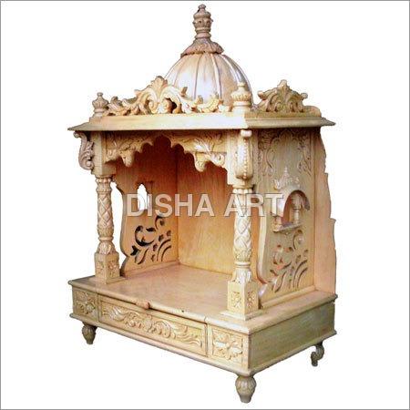 Sidha Arts Wooden Mandir