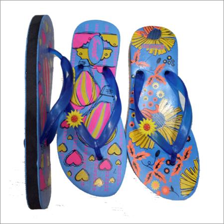 Ladies Rubber Flip Flop