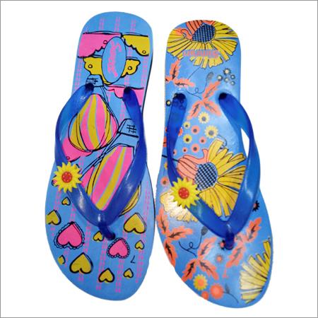 Size 4 x 7 Ladies Rubber Flip Flop