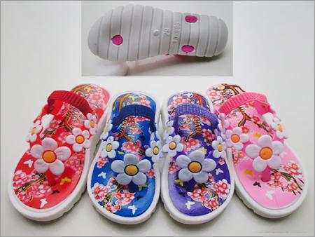 Kids PU Flip Flops