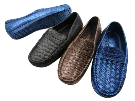PVC Men's Waterproof Loafer Shoes
