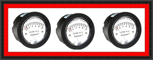 Sensocon USA Miniature Low Cost Differential Pressure Gauge Series S-5000-100MM