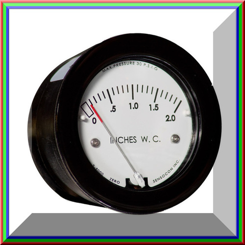 Sensocon USA Miniature Low Cost Differential Pressure Gauge Series S-5000-3KPA