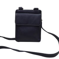 Leather Shoulder Messenger Bag