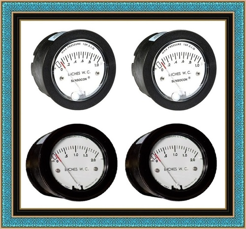 Sensocon USA Miniature Low Cost Differential Pressure Gauge Series Sz-5003