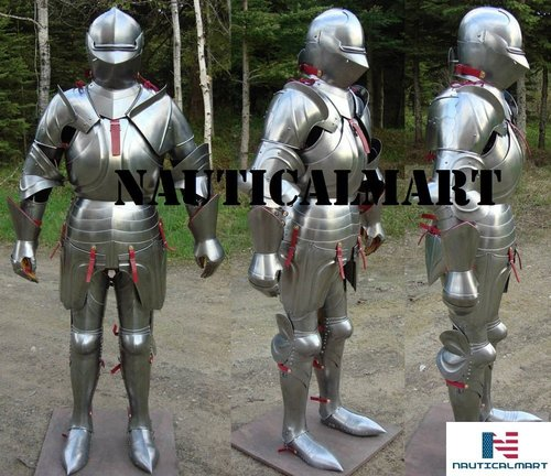 Plate Armour 17th-Century-Knight-Suit-Of-Armour-Combat-Full-Body-Armour-Suit