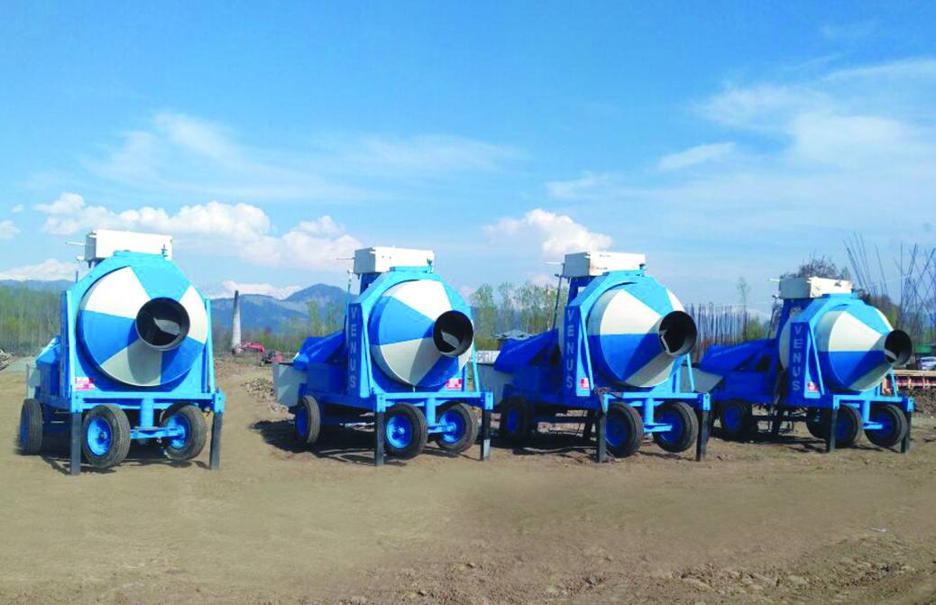 Reversible Concrete Mixer RM 800 E
