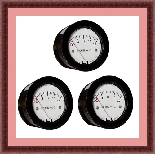 Sensocon USA Miniature Low Cost Differential Pressure Gauge Series Sz-5000-100MM
