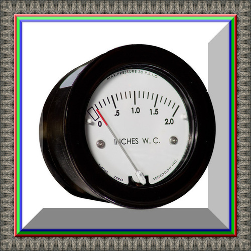 Sensocon USA Miniature Low Cost Differential Pressure Gauge Series Sz-5000-250PA