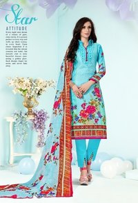 RAJIA SULTAN Fashion Cotton Salwar Kameez