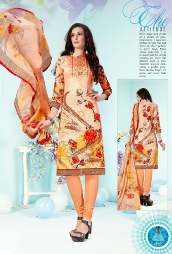 Pure Cotton Printed RAJIA SULTAN 5 STAR Salwar Kameez
