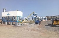 HORIZONTAL CEMENT/FLY ASH STORAGE SILO