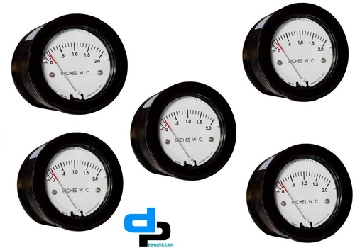 Differential Pressure Gauge Series Sz-5000 sensoco
