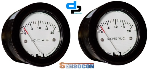 Sensocon USA Miniature Low Cost Differential Pressure Gauge Series Sz-5005