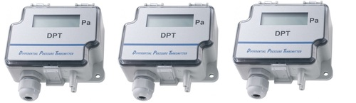 Sensocon USA Series DPT1-R8 - Range -25 - 25 Pa