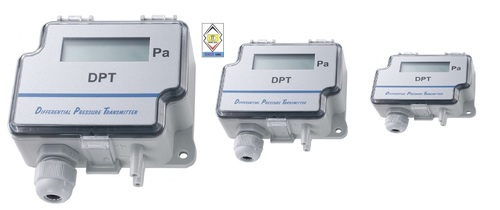 Sensocon USA Differential Pressure Transmitter Series DPT1-R8 - Range  -250 - 250 Pa