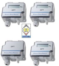 Sensocon USA Differential Pressure Transmitter Series DPT1-R8 - Range  0 - 25 Pa