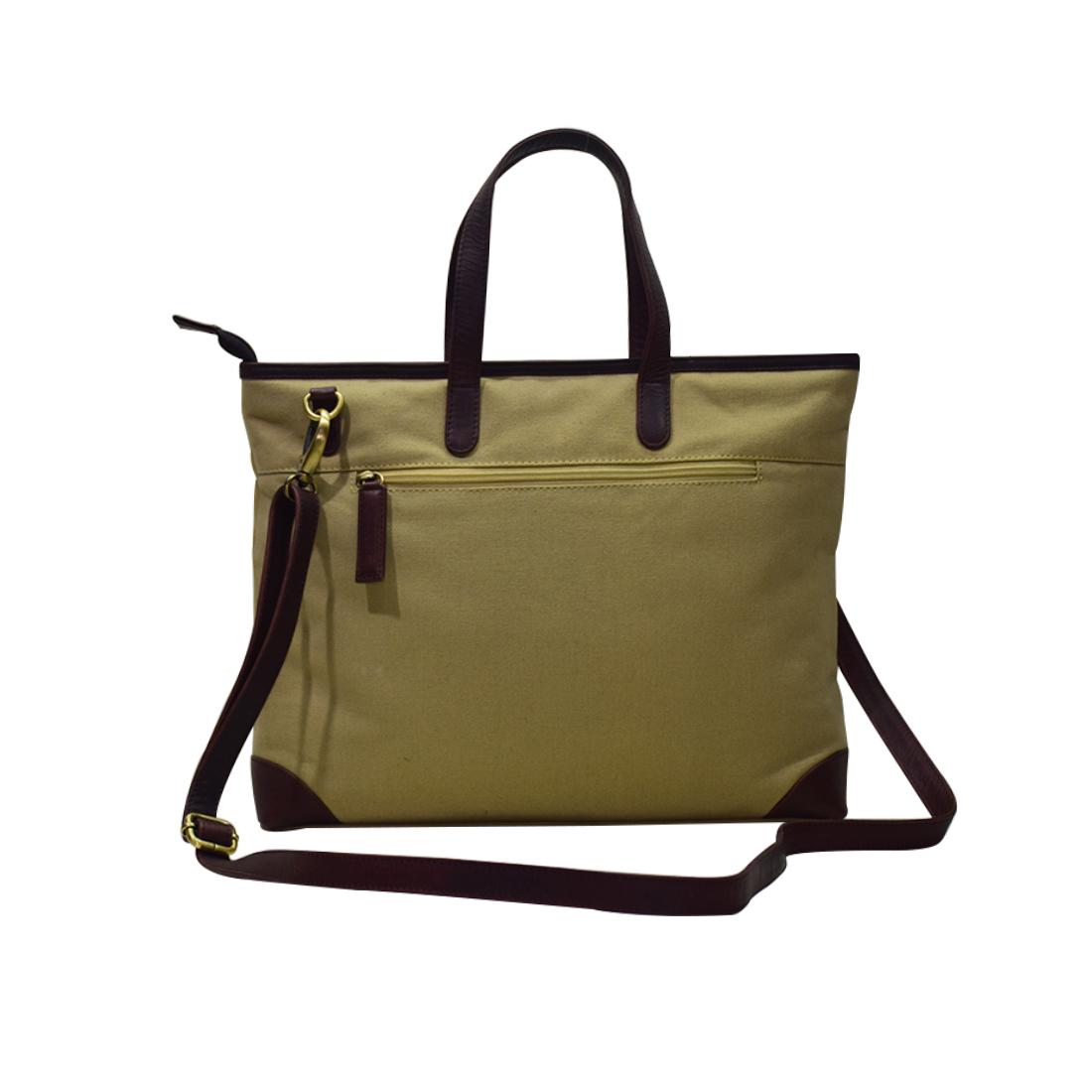 Cotton Canvas Shopping Office Shoulder Bag