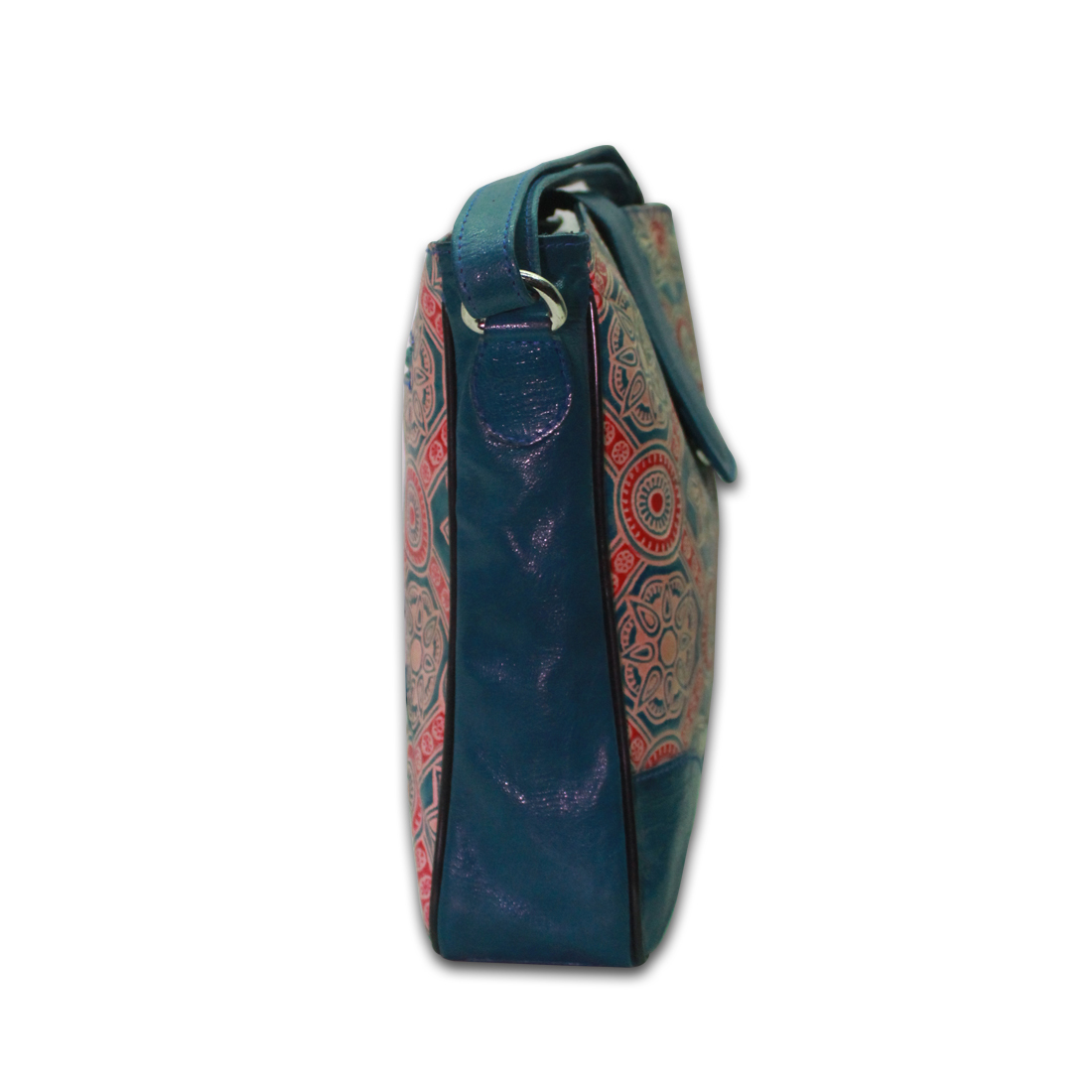 Hand Painted Leather Shantiniketan Bags