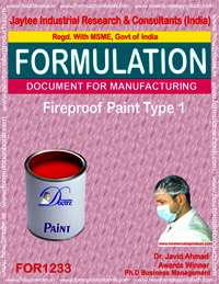 Fireproof Paint Type 1