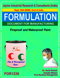 Fireproof and Waterproof Paint Formulation