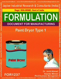 Paint Dryer Type 1 Formulation