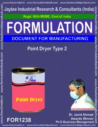 Paint Dryer Type 2 Formulation